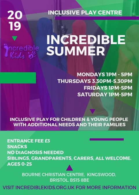 Flyer showing our summer holiday opening hours